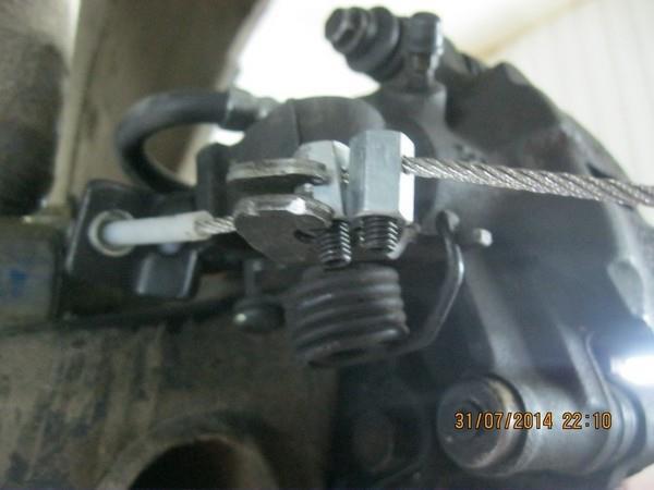 ремонт ручника ВАз 2108