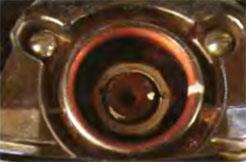 нанесение метки на ступицу рулевого колеса и рулевой вал