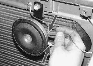 Регулировка и замена звукового сигнала