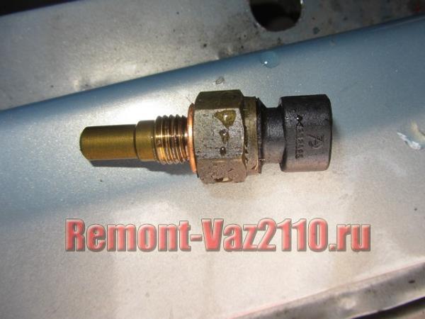 датчик температуры охлаждающей жидкости на ВАЗ 2110-2112