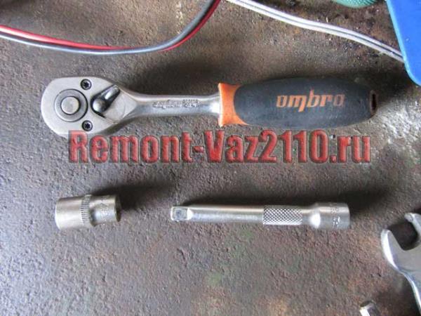 инструмент для замены датчика положения коленчатого вала на ВАЗ 2110-2112