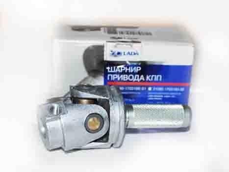 """Установка карданчика кулисы КПП от """"Калины"""" на ВАЗ 2115"""