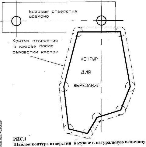 Установка рулевого редуктора на НИВУ