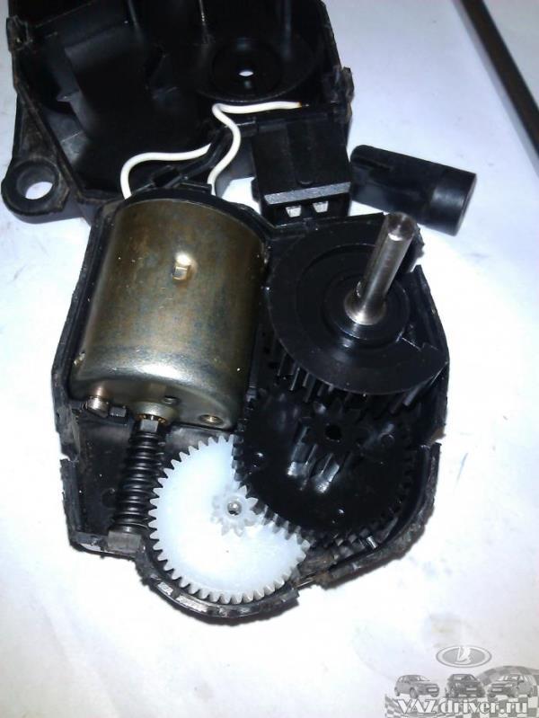 устройство моторедуктора печки ваз-2110 ваз-2111 и ваз-2112