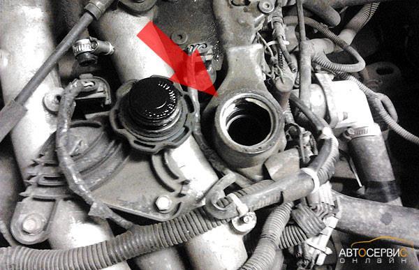 Масляная пробка на двигателе 2112 | Лада Приора (ВАЗ 2170)