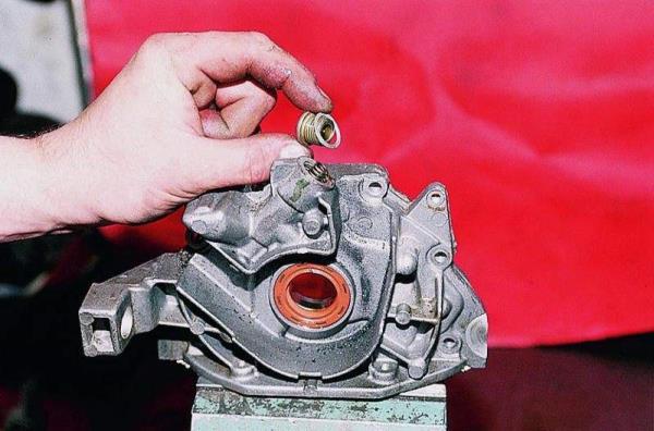 Уплотнительная шайба пробки редукционного клапана масляного насоса Лада Гранта (ВАЗ 2190)