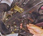 Замена передних амортизаторов ваз 2104-2107