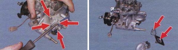 Ремонт ускорительного насоса карбюратора ваз 21099
