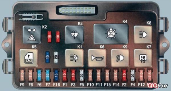 Предохранитель эбу ВАЗ 2107