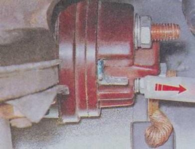 Снимаем колодку со стартера на ВАЗ 2101, 2102, 2103, 2104, 2105, 2106, 2107