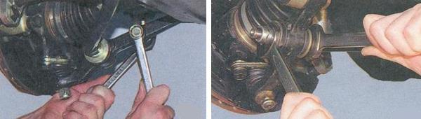 Замена рычага передней подвески Ваз 2170