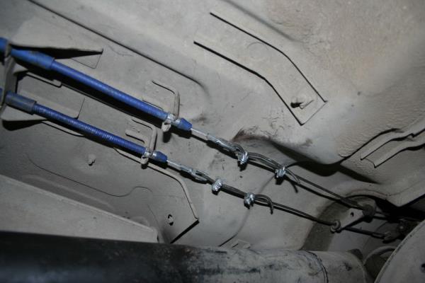 Днище автомобиля ВАЗ-21099