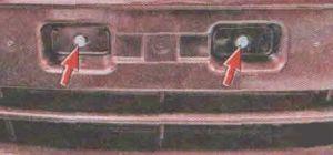Передний и задний бампер Лада Гранта, снятие и установка