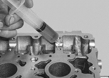 Операции выполняемые при замене маслосъемных колпачков на автомобиле ВАЗ 2170 2171 2172 Лада приора (Lada Priora)