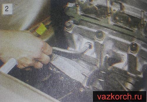 Замена маслосъемных колпачков ваз 2110-2111