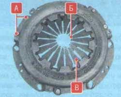 Сцепление Лада Ларгус (снятие, установка, неисправности, дефектовка деталей)