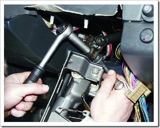 Меняем подшипники вала рулевого управления на ВАЗ 2110
