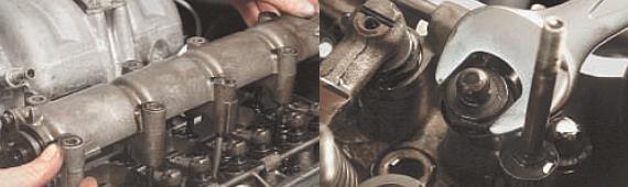 Замена прокладки головки блока цилиндров Нива Шевроле