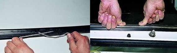 Как установить переднее лобовое стекло Нива 2121 2131