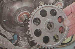 щкив выпускного вала Лада Ваз 2112