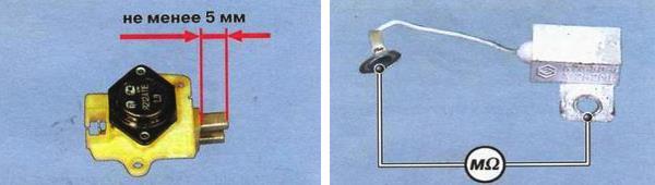 Проверка конденсатора генератора 37.3701 на автомобиле ваз 2109
