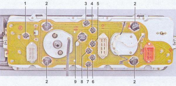 Панель приборов ВАЗ 2107