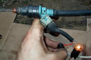 Фото промывки форсунок инжектора автомобиля ВАЗ 21093, ch.pp.ru