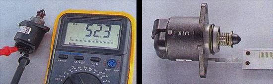 проверка регулятора холостого хода ваз 2107