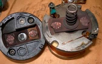 Замена втягивающего реле стартера на примере ВАЗ 2110