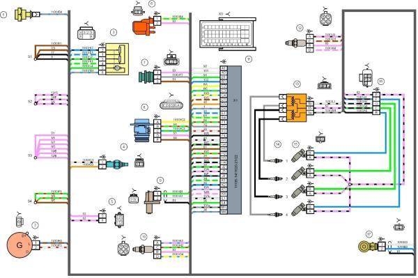 Замена бензонасоса ВАЗ 2108 инжектор