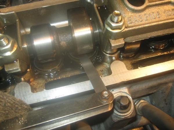 измерение зазора клапанов на ВАЗ 2109-21099