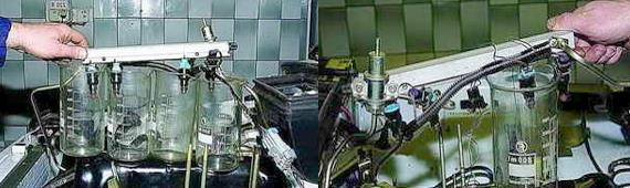 Проверка топливных форсунок Нива 2121 2131
