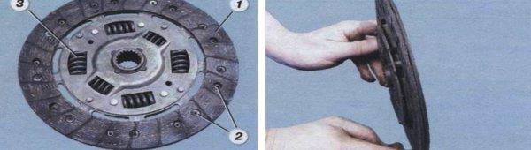 снятие механизма сцепления ваз 2108