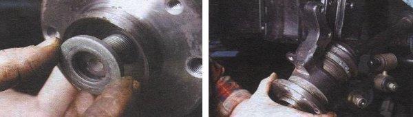снятие подшипника ступицы ваз 2108