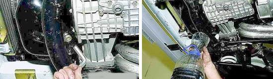 Замена масла в картере двигателя Ваз 2121, 2131 Нива