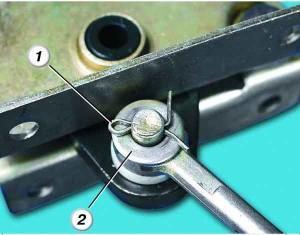 ремонт ручника на ваз 2110