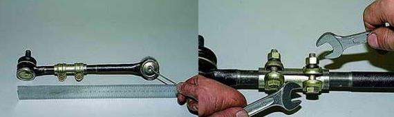 Замена рулевых наконечников Нива 2121 2131
