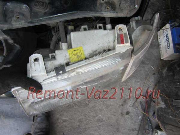 замена фары на ВАЗ 2110-2112