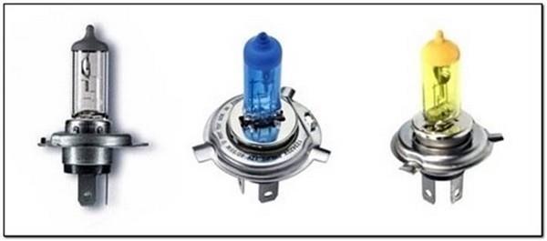 Типы ламп, применяемых на автомобиле Шевроле Нива