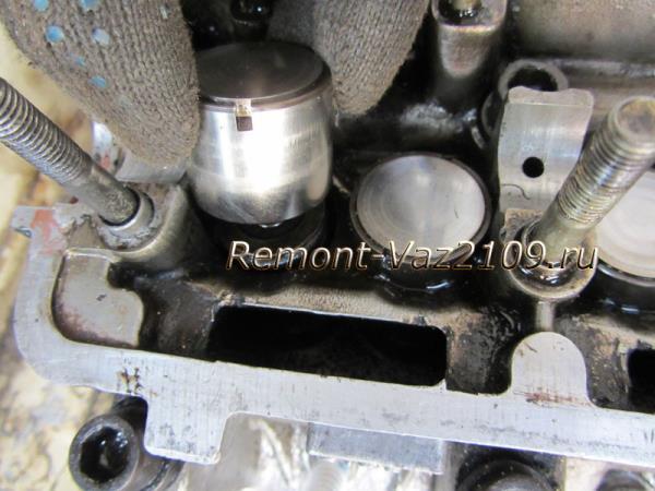 как снять толкатели клапанов на ВАЗ 2109-2108