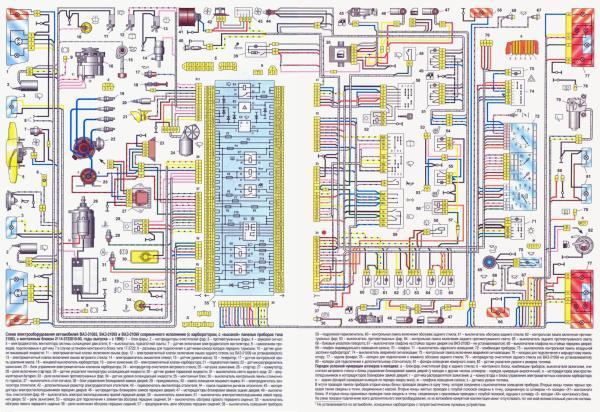 Схема проводов ваз 2108 :: Форум нужных закачек