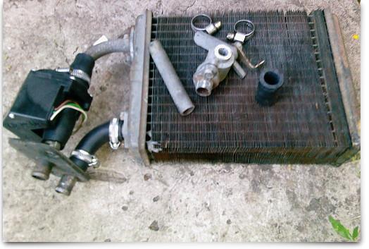 Демонтируем радиатор