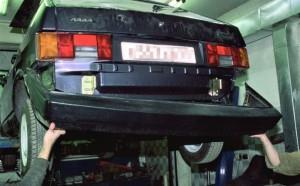 ВАЗ 2108: замена бамперов