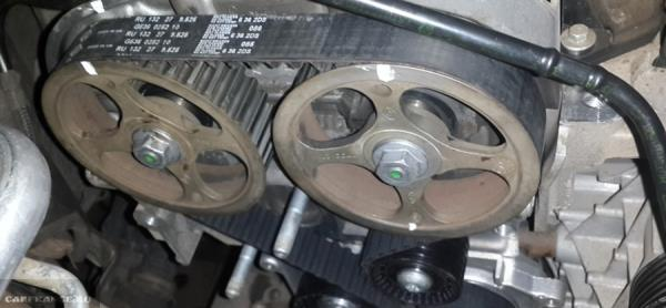 Замена грм на рено логан 1.6 16 клапанов