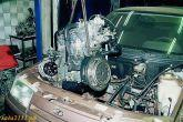 снятие двигателя ВАЗ 21124