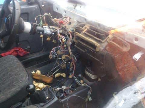 Замена подкапотной проводки ваз 2109 инжектор