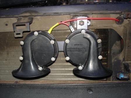 Установка звуковых сигналов на ВАЗ 2108