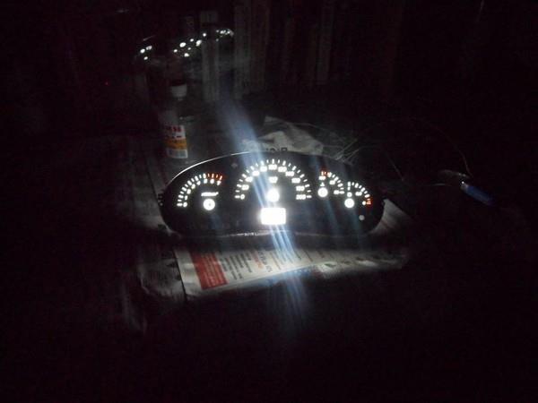 Замена подсветки панели приборов Лада Приора