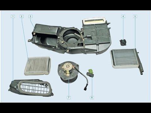 Замена мотора печки приора