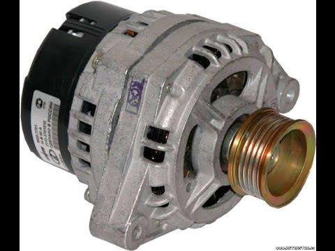 Снятие и замена генератора на ВАЗ 2110, 2111, 2112